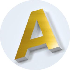 металлические-буквы-золото-глянец-зеркало